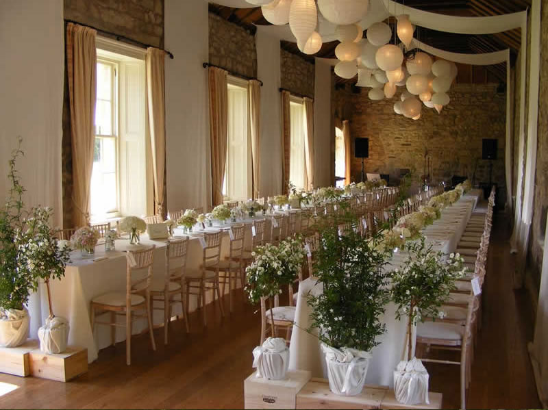 wedding - stables interior